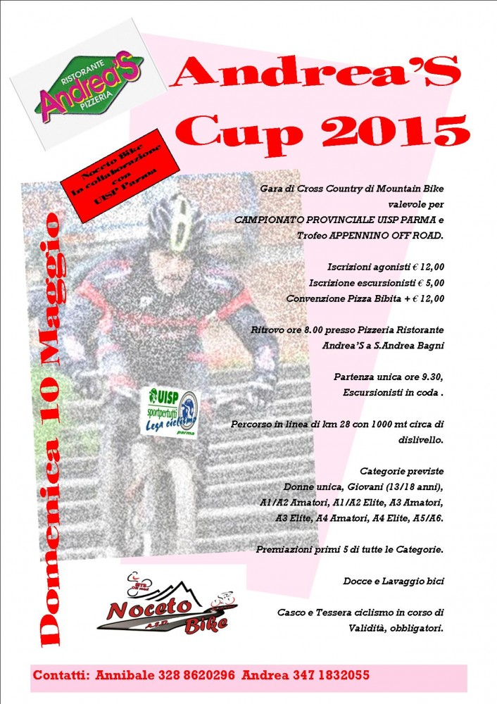 Andrea's Cup 2015