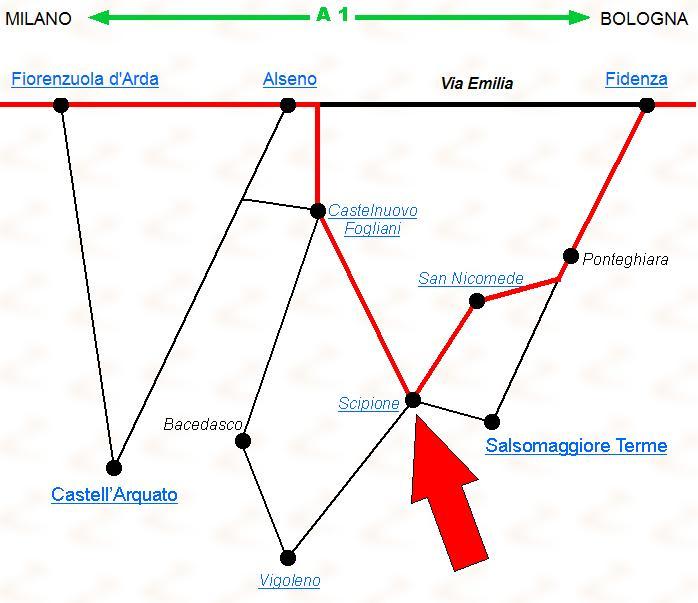mappa scipione