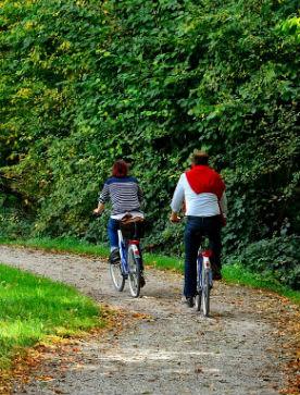 bicicletta turismo divertimento