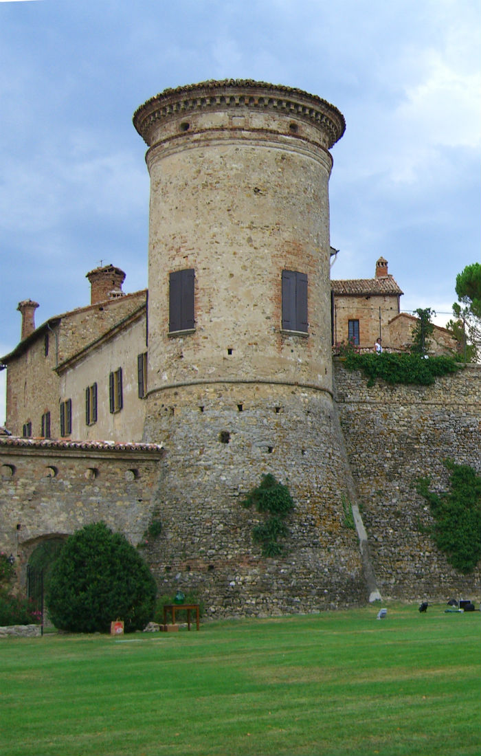 torre castello Scipione